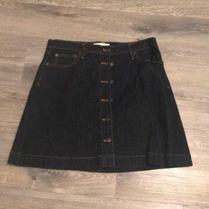 Gap blue Jean skirt